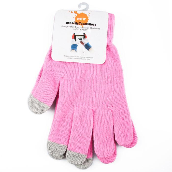 Liberty Project, Pink перчатки для сенсорных экранов (размер M)R0001013Перчатки Liberty Project предназначены для удобства использования цифровых устройств с сенсорными экранами в сезон холодов и для работы при низких температурах. Управление девайсами осуществляется с помощью трех пальцев на каждой перчатке.