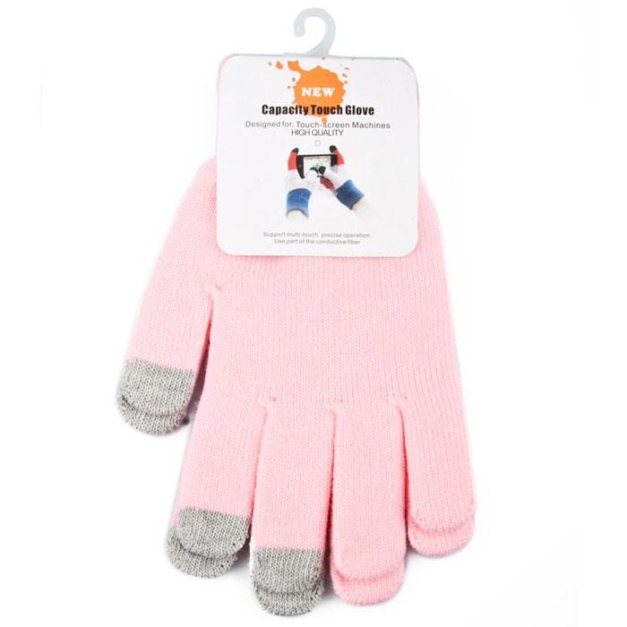 Liberty Project, Light Pink перчатки для сенсорных экранов (размер M)