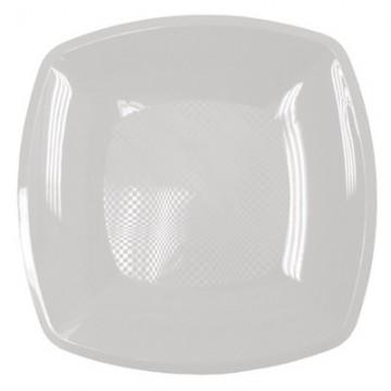 Набор одноразовых плоских тарелок Buffet, цвет: белый, 23 см х 23 см, 6 шт285483Набор Buffet состоит из 6 плоских тарелок, выполненных из полипропиленаи предназначенных для одноразового использования. Тарелки подойдут для различных пищевых продуктов. Одноразовые тарелки будут незаменимы при поездках на природу, пикниках и других мероприятиях. Они не займут много места, легки и самое главное - после использования их не надо мыть.Размер тарелки: 23 см х 23 см.Высота тарелки: 1,7 см.