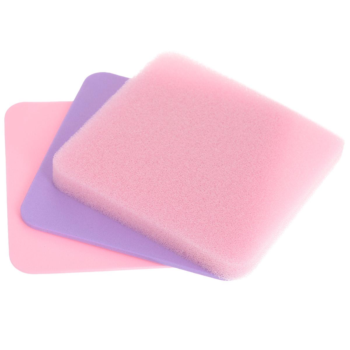 Набор губчатых основ Wilton, цвет: розовый, фиолетовый, 3 штWLT-1907-9704Набор Wilton состоит из 3 губчатых основ (1 толстая, 2 тонких), изготовленных из полиуретана и использующихся в кондитерском творчестве. Губки - это прекрасная мягкая поверхность для формирования съедобных цветов, листьев и других форм из мастики и моделирующей пасты. Тонкую губку лучше всего использовать для утончения краев лепестков с помощью шарикового инструмента, скручивания стеблей, создания волнистых полосок. Толстую губку рекомендуется использовать для такой работы, как вдавливание цветочного центра. Размер губок: 10,16 см х 10,16 см.Толщина губок: 0,18 см, 0,32 см, 1,27 см.