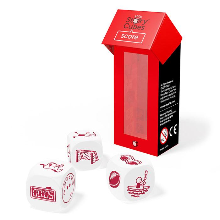 Story Cubes Игральные кубики Спорт дополнительный набор настольная игра лаборатория игр rory s story cubes кубики историй путешествия 9 кубиков