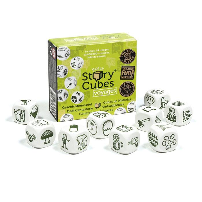 Rory's Story Cubes Обучающая игра Путешествия игра настольная обучающая rory s story cubes кубики историй космос