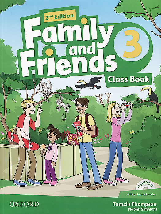 Family and Friends: Class Book: Level 3 (+ CD-ROM) evans v new round up 5 student's book грамматика английского языка russian edition with cd rom 4 th edition