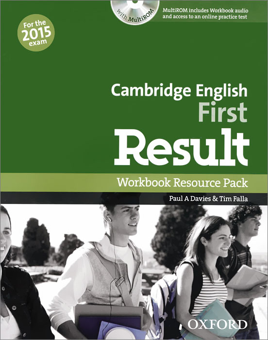 Cambridge English: First Result: Workbook Resource Pack: Level B2 (+ CD-ROM) first english words cd