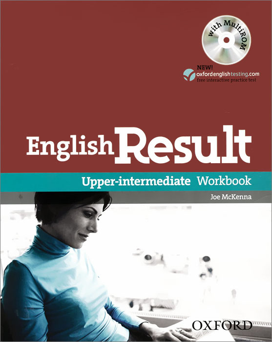 English Result: Upper-Intermediate: Workbook: Level B2 (+ CD-ROM) new english file upper intermediate students book six level general english course for adults