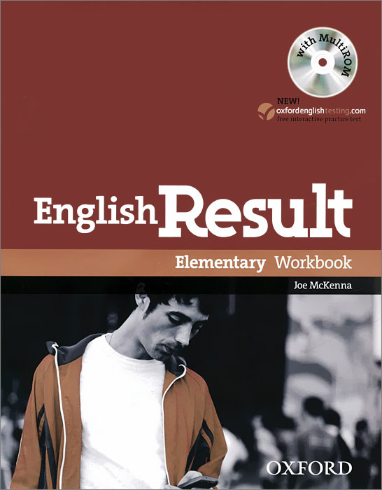 English Result: Intermediate: Workbook: Level A1 (+ CD-ROM) joe mckenna english result intermediate workbook dvd rom