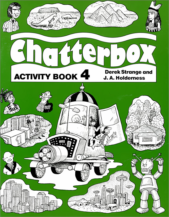 Chatterbox: Activity Book: Level 4 transformers a fight with underbite activity book level 4