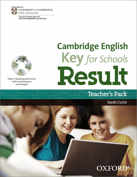 Cambridge English: Key for Schools Result: Level A2 (комплект из 3 книг + DVD-ROM) hewings martin thaine craig cambridge academic english advanced students book