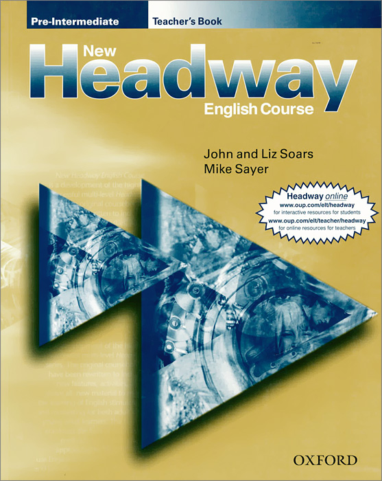 New Headway English Course: Pre-Intermediate: Teacher's Book new and original zd 70n optex photoelectric switch photoelectric sensor npn output