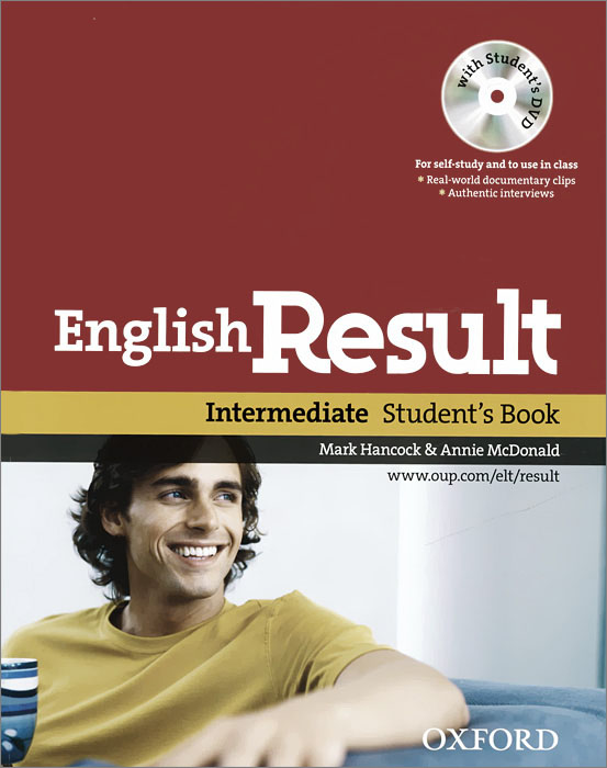 English Result: Intermediate: Student's Book (+ DVD-ROM) joe mckenna english result intermediate workbook dvd rom