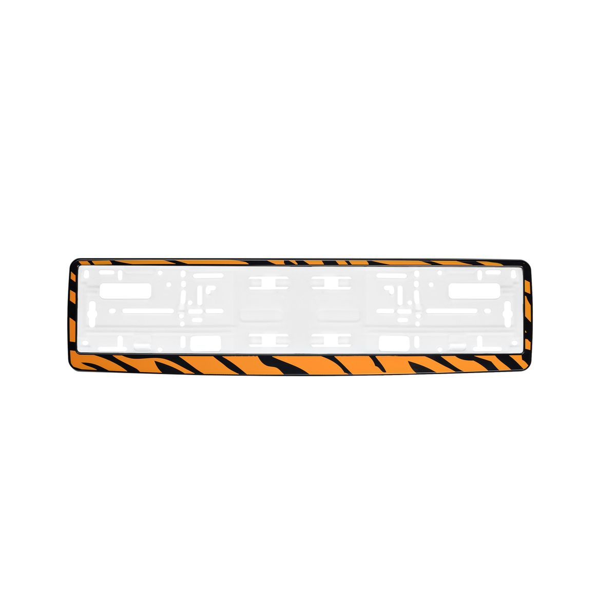 Рамка под номер Cat WomenЗ0000012452Рамка Cat Women не только закрепит регистрационный знак на вашем автомобиле, но и красиво его оформит. Основание рамки выполнено из полипропилена, материал лицевой панели - пластик.Она предназначена для крепления регистрационного знака российского и европейского образца, декорирована орнаментом. Устанавливается на все типы автомобилей. Крепления в комплект не входят.Стильный дизайн идеально впишется в экстерьер вашего автомобиля.Размер рамки: 53,5 см х 13,5 см. Размер регистрационного знака: 52,5 см х 11,5 см.