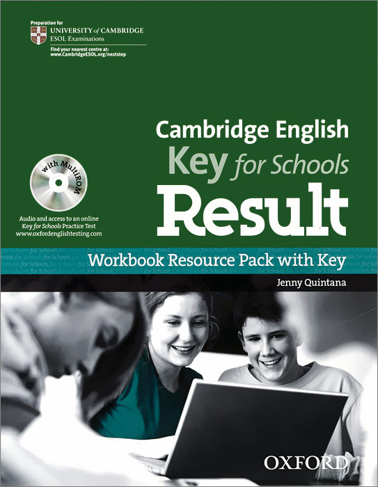 Cambridge English: Key for Schools Result: Workbook Resource Pack with Ke (+ CD-ROM) new total english intermediate workbook with key cd