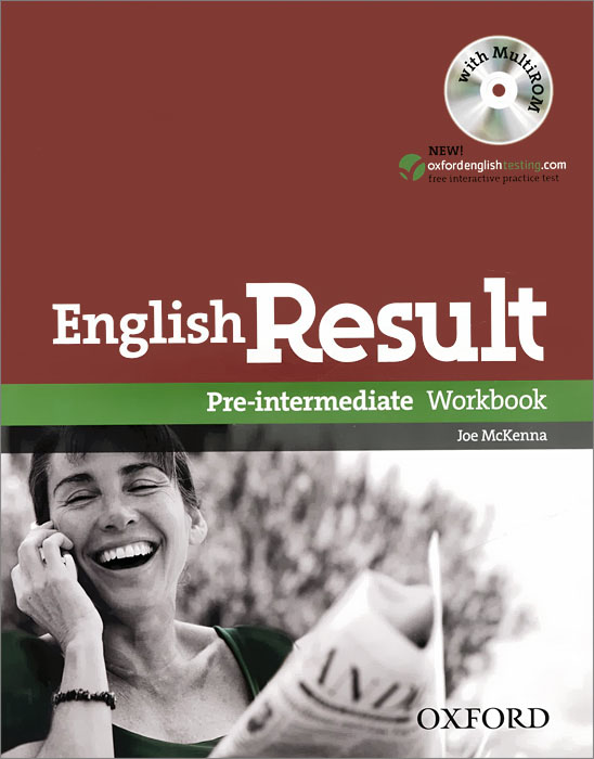 English Result: Pre-intermediate: Workbook (+ CD-ROM) roberts rachael sayer mike insight pre intermediate workbook