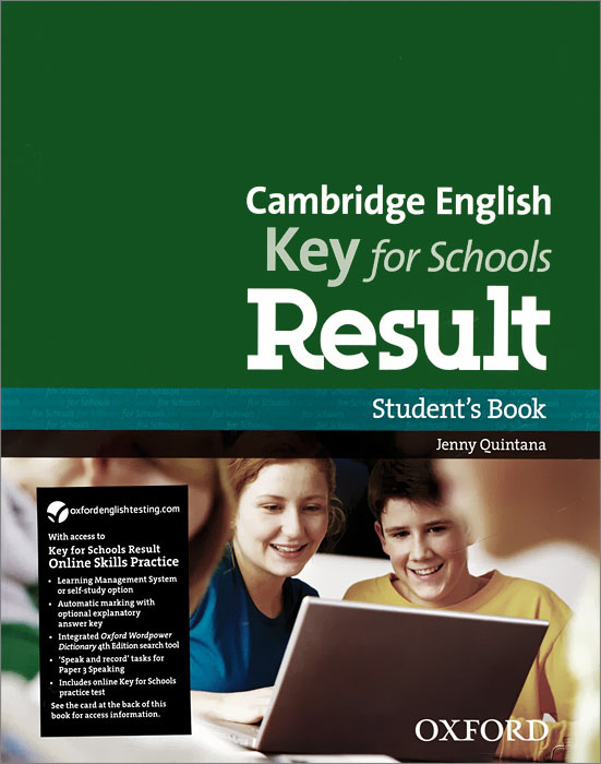 Cambridge English: Key for Schools Result: Students Book