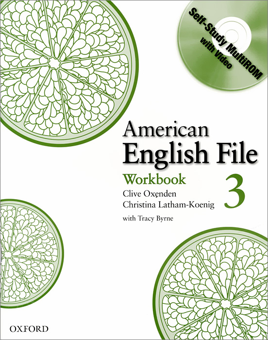 American English File: Level 3: Workbook (+ CD-ROM)