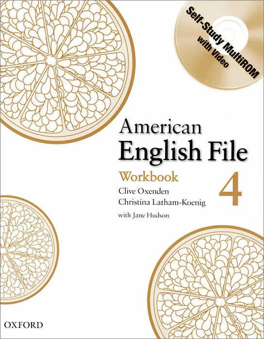 American English File: Level 4: Workbook (+ CD-ROM)