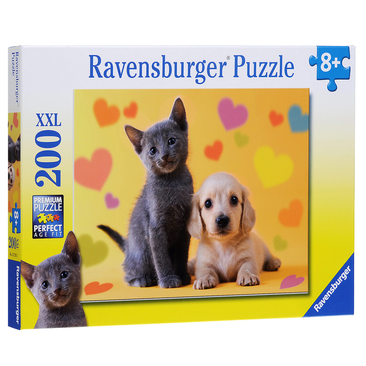 Ravensburger Неразлучные друзья. Пазл XXL, 200 элементов