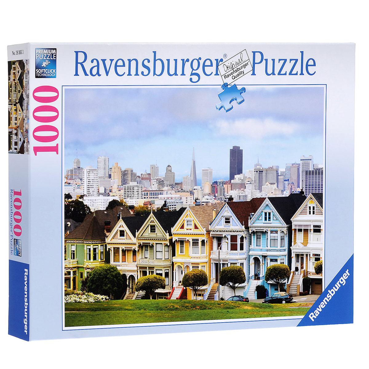 Ravensburger Викторианские дома Сан-Франциско. Пазл, 1000 элементов