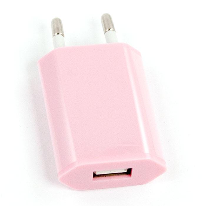 Liberty Project зарядное устройство 1А, Pink зарядное устройство зарядное устройство сетевое qtek s200 htc p3300 ainy 1a