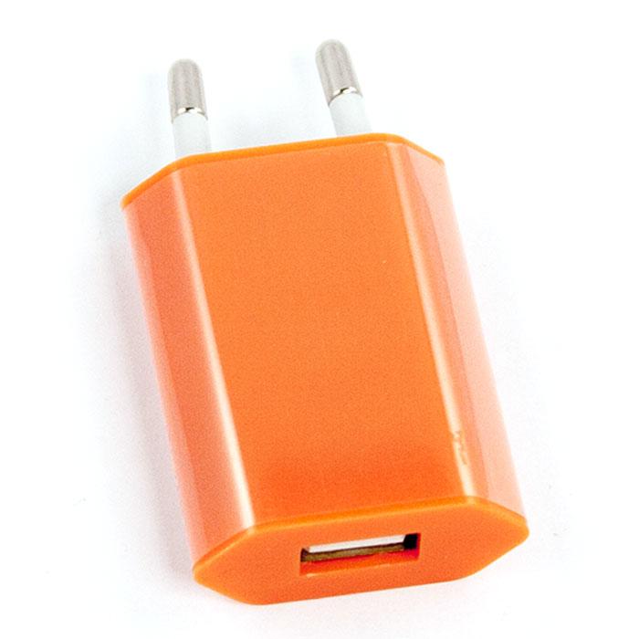 Liberty Project зарядное устройство 1А, OrangeR0003918Сетевое зарядное устройство Liberty Project для смартфонов, планшетных ПК и совместимых устройств.