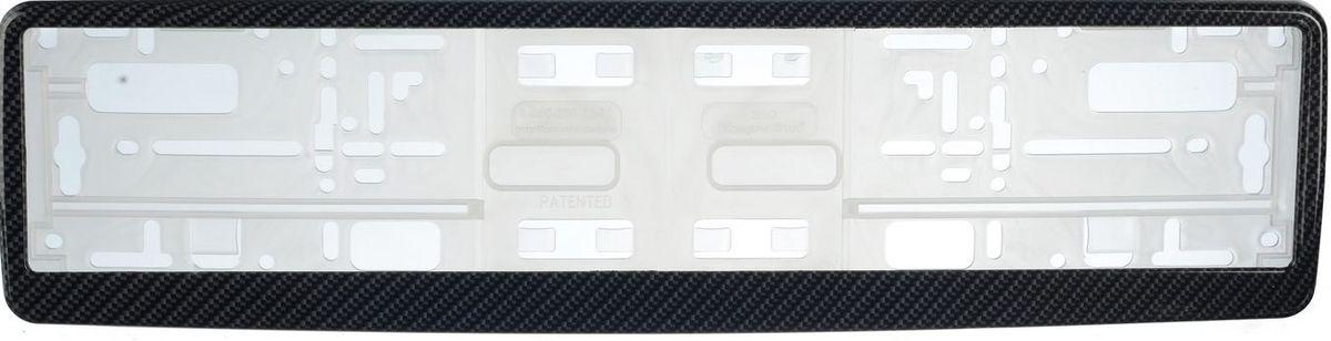 Рамка под номер КарбонЗ0000014100Рамка Карбон не только закрепит регистрационный знак на вашем автомобиле, но и красиво его оформит. Основание рамки выполнено из полипропилена, материал лицевой панели - пластик.Она предназначена для крепления регистрационного знака российского и европейского образца, декорирована орнаментом. Устанавливается на все типы автомобилей. Крепления в комплект не входят.Стильный дизайн идеально впишется в экстерьер вашего автомобиля.Размер рамки: 53,5 см х 13,5 см. Размер регистрационного знака: 52,5 см х 11,5 см.