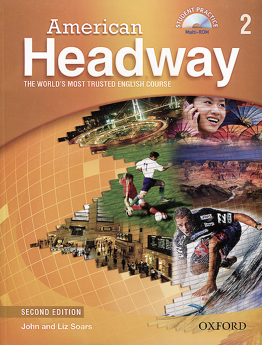 American Headway: 2 Student Book: Level B1 (+ CD-ROM) printio футболка стрэйч