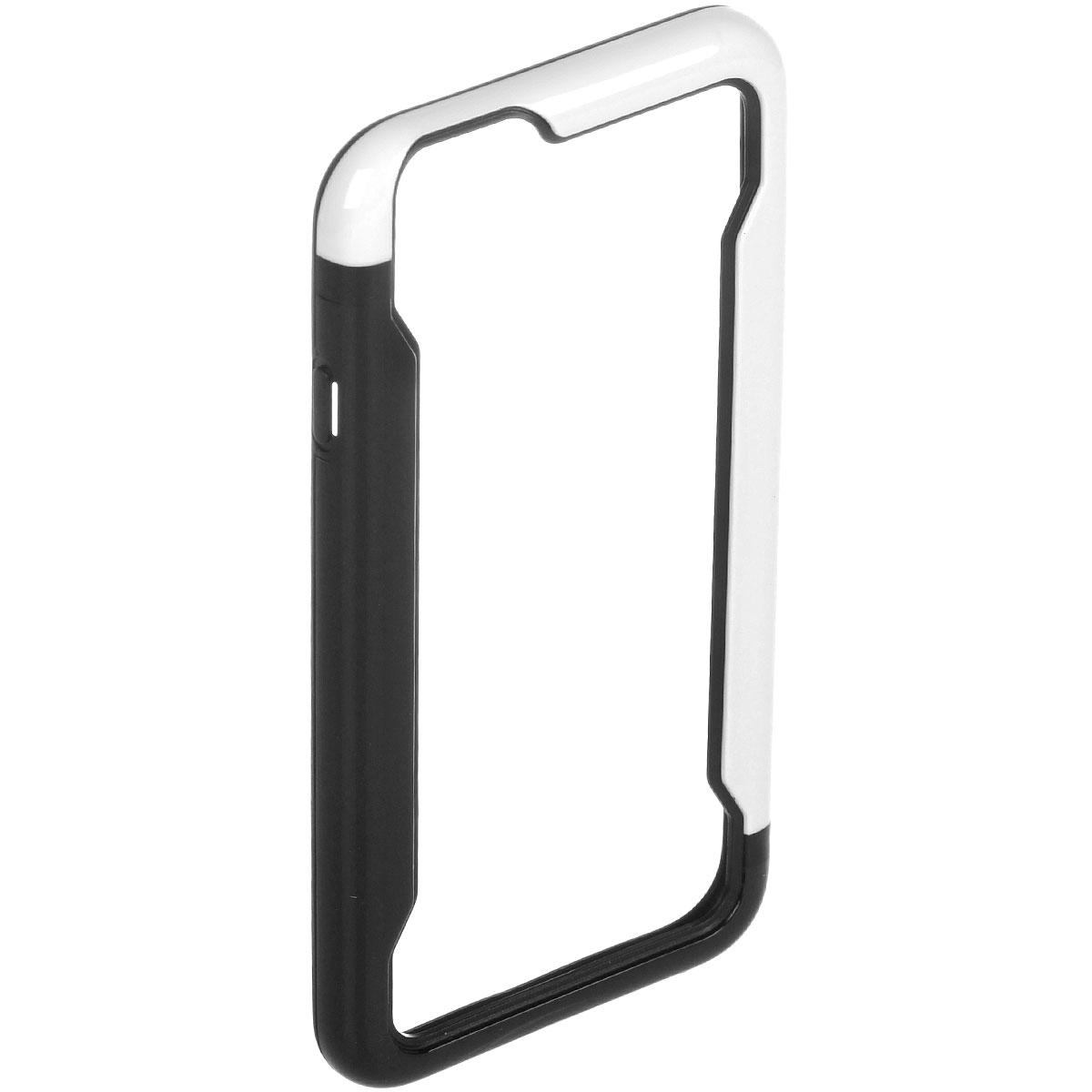 Liberty Project чехол-накладка для iPhone 6, Black White liberty project чехол флип для huawei ascend p7 black