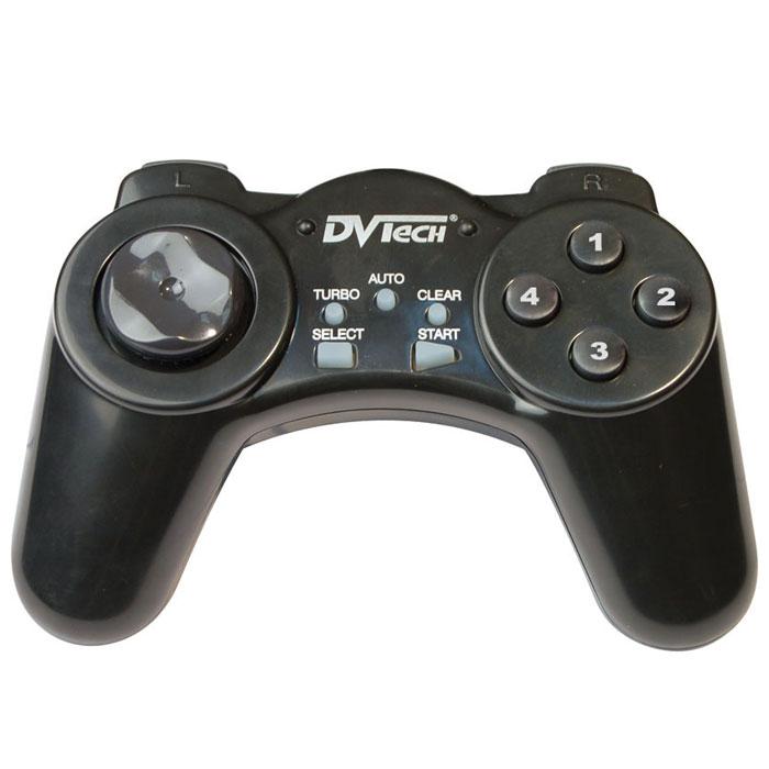 Джойстик PC DVTech JS19 Gear (черный)JS 19Высокая надёжность и многофункциональность в сочетании с невысокой ценой делают контроллер DVTech JS19 Gear одним из самых популярных у геймеров. А разнообразие цветовой гаммы создаёт дополнительную гармонию с многокрасочным миром видеоигр.