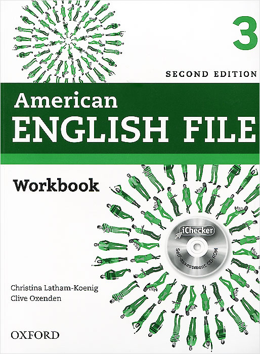 American English File: Level 3: Workbook (+ CD-ROM) cambridge learners dictionary english russian paperback with cd rom