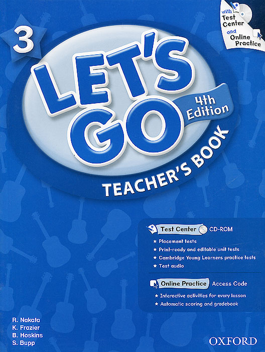 Let's Go 3: Teacher's Book (+ CD-ROM) touchstone teacher s edition 4 with audio cd