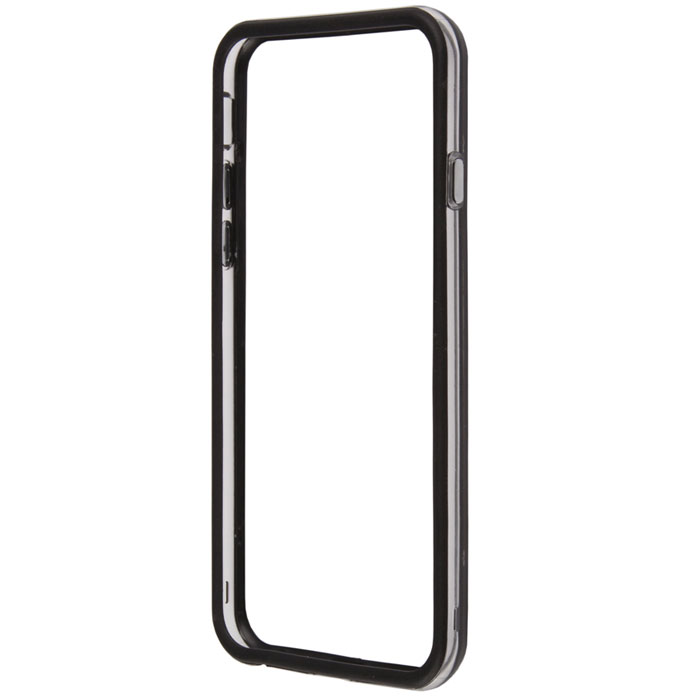 Liberty Project Bumpers чехол-накладка для iPhone 6, Clear Black liberty project чехол флип для alcatel one touch idol 2 2s black