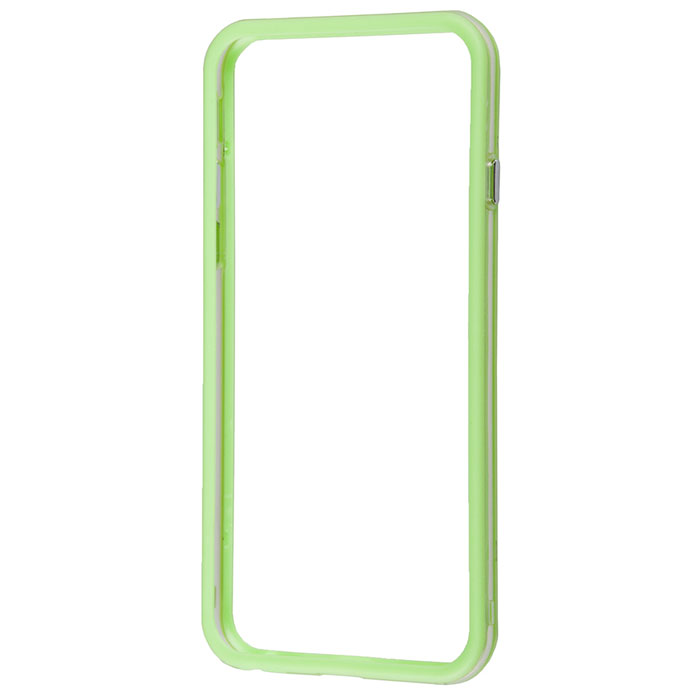 Liberty Project Bumpers чехол-накладка для iPhone 6, Clear Green liberty project android a55 green картридер