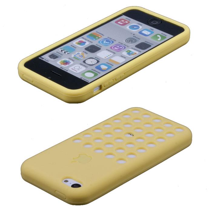 Liberty Project Holes чехол для iPhone 5c, YellowR0000448Чехол Liberty Project Holes для iPhone 5c защитит ваш гаджет от механических повреждений и влаги. Чехол имеет свободный доступ ко всем разъемам и клавишам устройства.