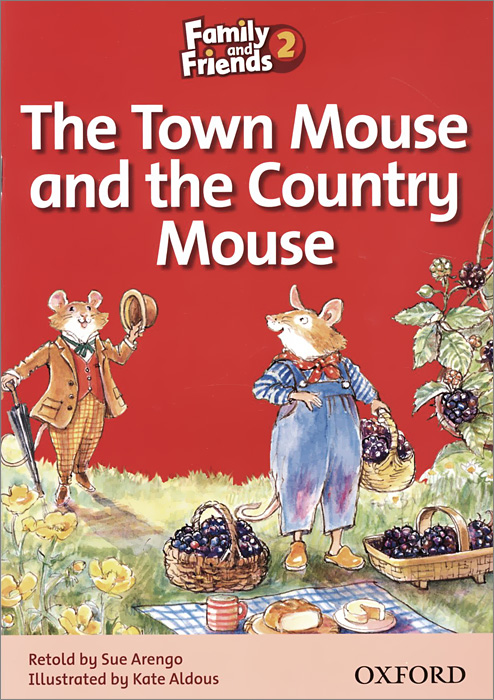 Family and Friends: Level 2: The Town Mouse and the Country Mouse rdr cd [green a1 ] town mouse and the