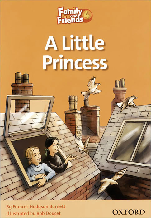 A Little Princess: Level 4 family and friends readers 4 the lost world