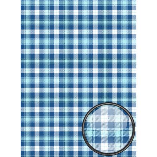 Рисовая бумага для декупажа Craft Premier, A3, 25г/м, Голубая шотландкаCP09361Плотность бумаги 25 г/м бумага, ПВХ