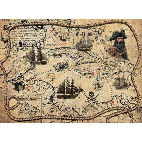 Рисовая бумага для декупажа Craft Premier, A3, 25г/м, Пиратская картаCP09439Плотность бумаги 25 г/м бумага, ПВХ