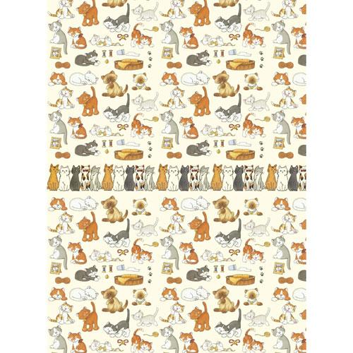 Рисовая бумага для декупажа Craft Premier, A3, 25г/м, Рыжие котятаCP09576Плотность бумаги 25 г/м бумага, ПВХ