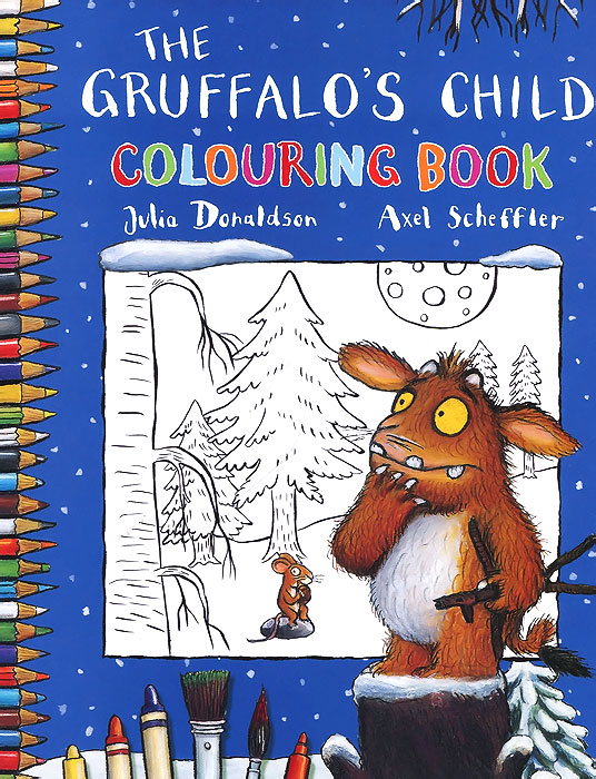 The Gruffalo's Child Colouring Book great britain colouring book