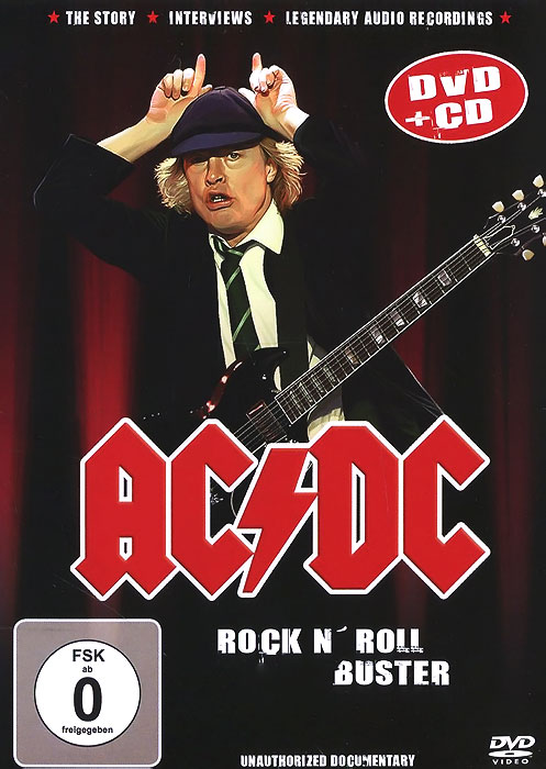 AC/DC. Rock N' Roll Buster (DVD + CD) ac dc ac dc marcus hook roll band tales of old grand daddy