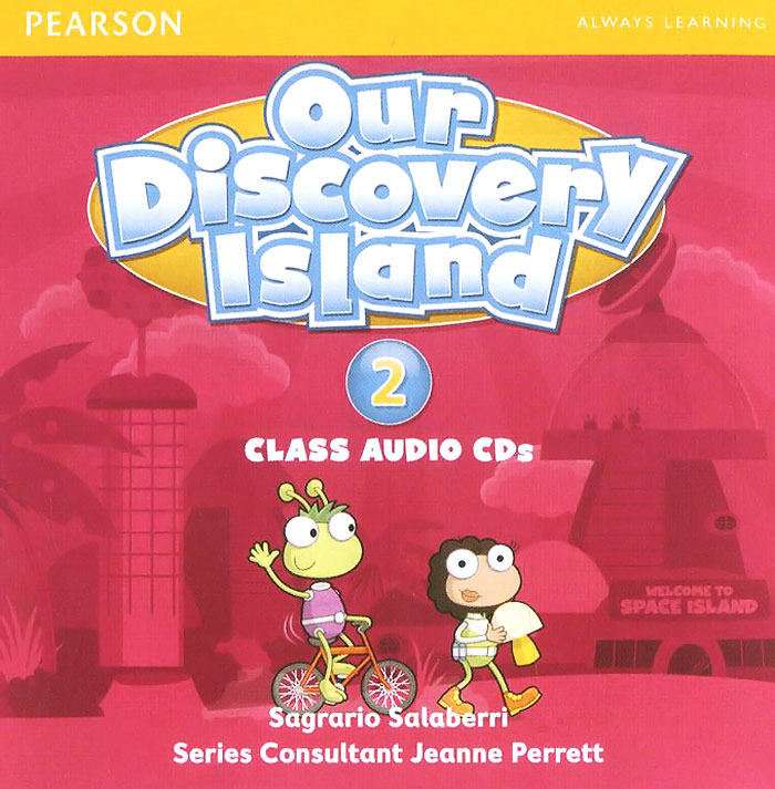 Our Discovery Island: Level 2 (аудиокурс на 3 CD) our discovery island level 4 cd rom