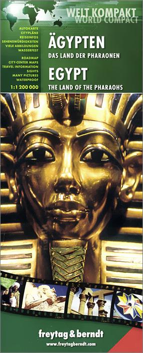 Egypt: The Land of the Pharaohs budapest city map