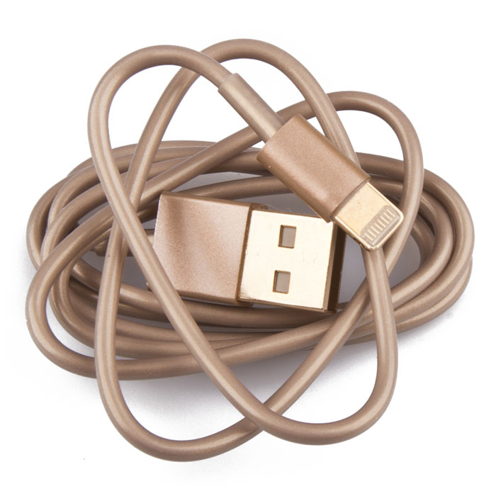 Liberty Project USB Lightning Cable кабель для iPhone 5s, Gold