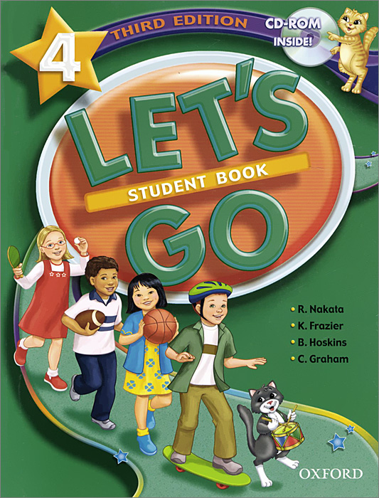 Let's Go: 4: Student Book (+ CD-ROM) plus extra beginners student s book cd rom