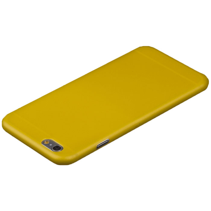 Liberty Project защитная крышка 0,4 мм для iPhone 6 Plus, Yellow чехол apple leather case для iphone 6 6s plus