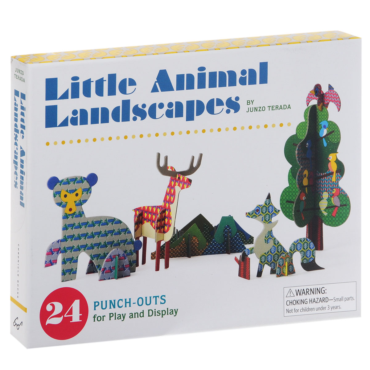 Little Animal Landscapes: 24 Punch-Outs for Play and Display christmas envelopes sticker and pop up cards set 1set 10pcs cards 10pcs envelopes 1 sheet seal sticker