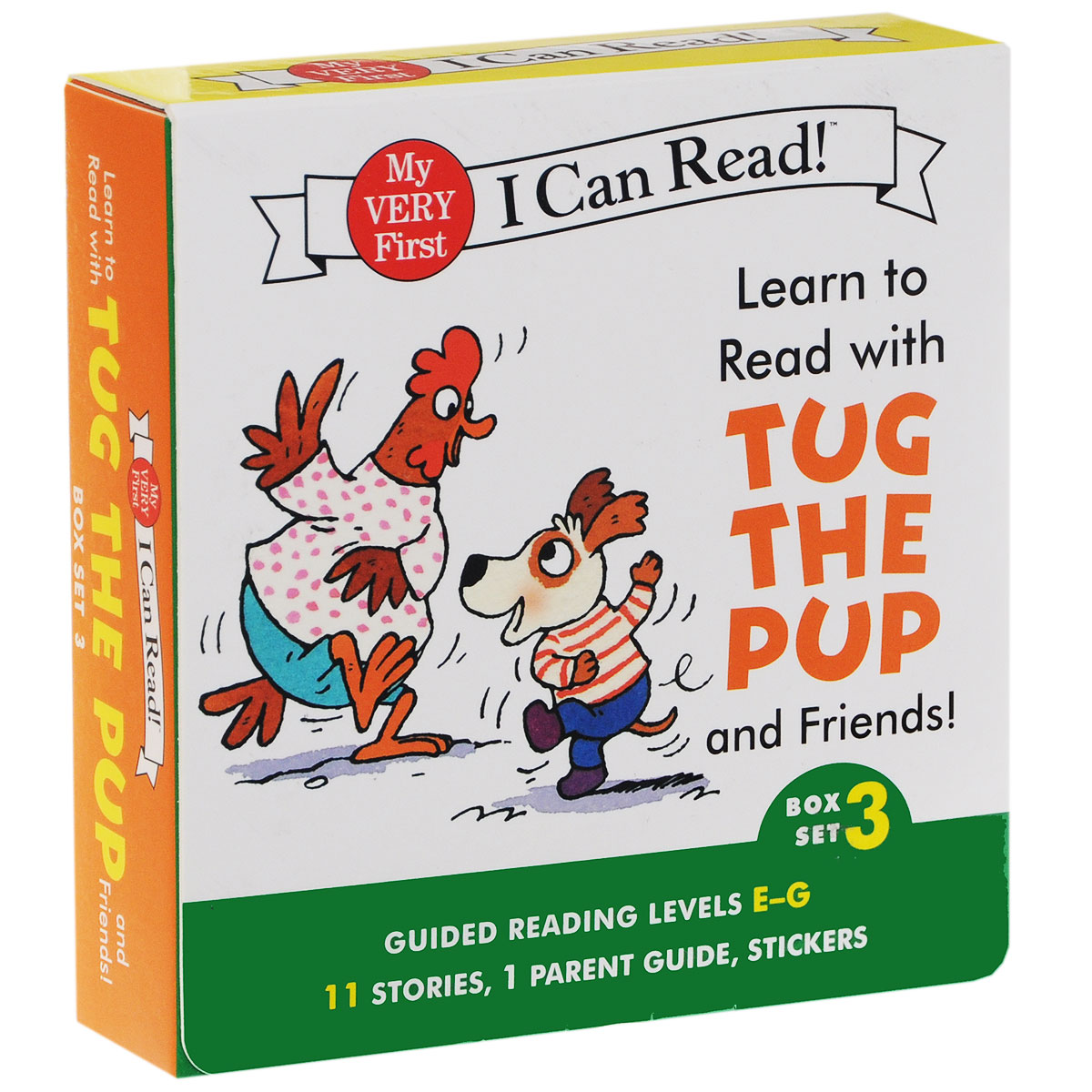 Learn to Read with Tug the Pup and Friends! (комплект из 12 книг) pup art 9