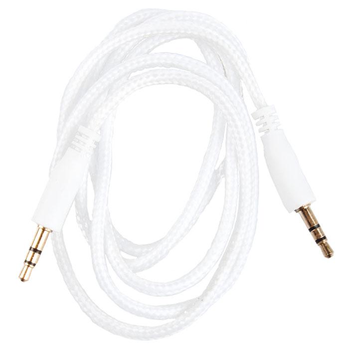 Liberty Project аудиокабель в оплетке, White (1 м)SM001730Кабель в оплетке Liberty Project предназначен для передачи звука между устройствами с разъемами 3.5 мм.
