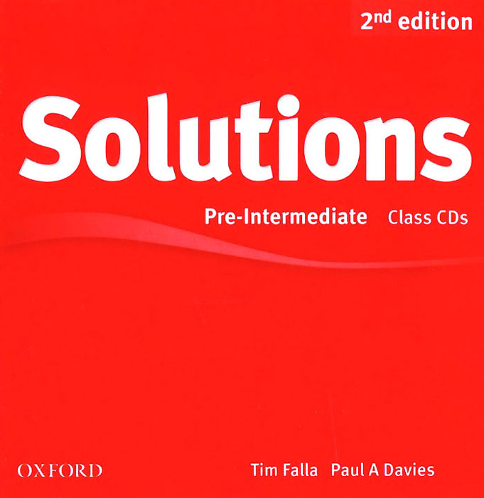 Solutions: Pre-Intermediate: Class Audio CDs (аудиокурс на 3 CD) soars l new headway upper intermediate class audio cds 4th edition