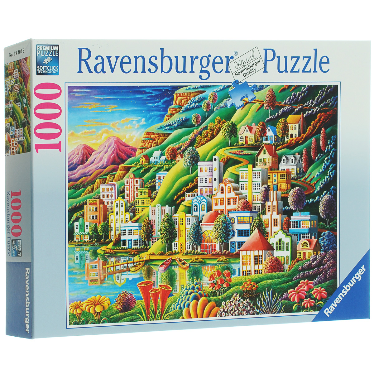Ravensburger Волшебный город. Пазл, 1000 элементов